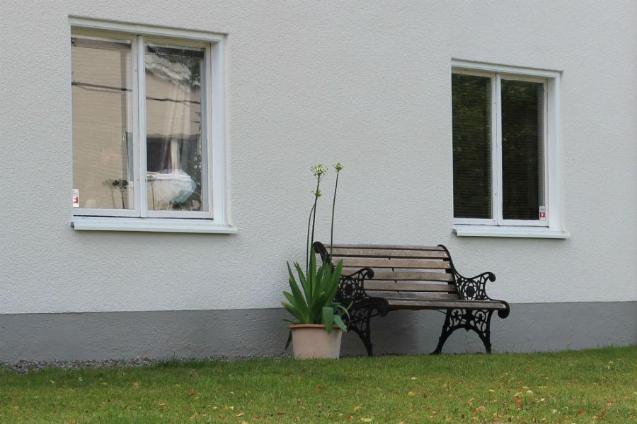 Fasadrenovering utförd i Stockholm.