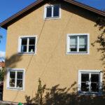 Fasadrenovering utförd i Bromma Stockholm.