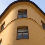 Utförd fasadrenovering i Stockholm.